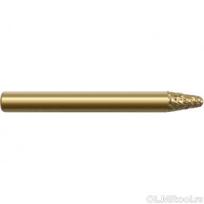 Фреза алмазная коническая шлифовальная DJTOL DMV06310 вакуумная пайка