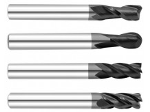 Фрезы по стали и цветным металлам