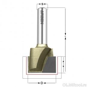 Фреза для выравнивания дна D=40x15 S=12,7 ARDEN A0117448
