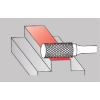 Цилиндрическая борфреза без режущего торца SA0313-1 СТ (одинарная насечка)